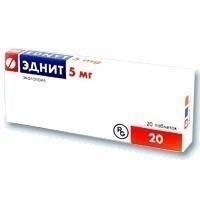 Эднит, табл. 5 мг №20