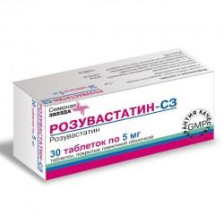 Розувастатин-СЗ, табл. п/о пленочной 5 мг №30
