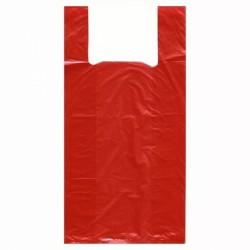 Пакет-майка, р. 24смх43см №1 ПНД красный