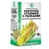 Кукурузы столбики с рыльцами, сырье 50 г №1