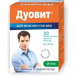 Дуовит для мужчин, табл. п/о №30