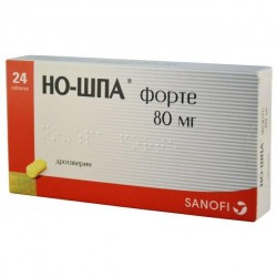 Но-шпа форте, табл. 80 мг №24