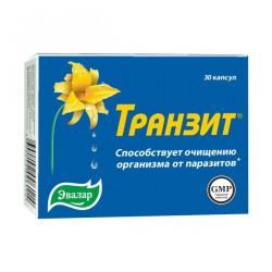 Транзит очищение от паразитов, капс. 0.42 г №30