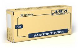 Амитриптилин, табл. 25 мг №50