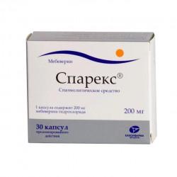 Спарекс, капс. пролонг. 200 мг №30