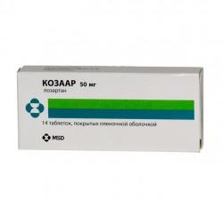 Козаар, табл. п/о пленочной 50 мг №14