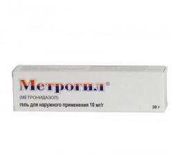 Метрогил, гель д/наружн. прим. 10 мг/г 30 г №1