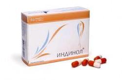 Индинол, капс. 300 мг №60