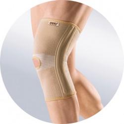 Бандаж на коленный сустав, ОРТО р. XL арт. BKN-871 из нити с керамическим напылением с ребрами жесткости