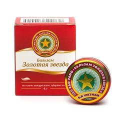 """Бальзам """"Золотая звезда"""", бальзам 4 г №1"""