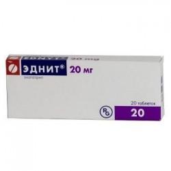 Эднит, табл. 20 мг №20