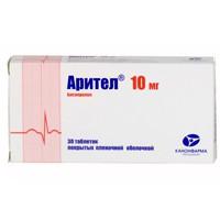 Арител, табл. п/о пленочной 5 мг №30