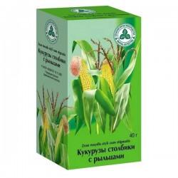 Кукурузы столбики с рыльцами, сырье 40 г №1