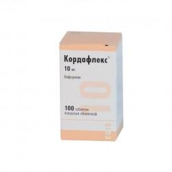 Кордафлекс, табл. п/о 10 мг №100