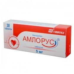 Амлорус, табл. 5 мг №30
