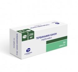 Тербинафин, табл. 250 мг №14