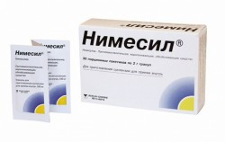 Нимесил, гран. 100 мг 2 г №30