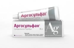 Аргосульфан, крем д/наружн. прим. 2% 15 г №1