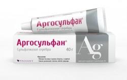 Аргосульфан, крем д/наружн. прим. 2% 40 г №1