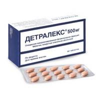 Детралекс, табл. п/о 500 мг №60