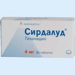 Сирдалуд, табл. 4 мг №30