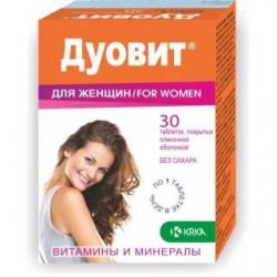 Дуовит для женщин, табл. п/о №30