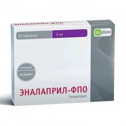 Эналаприл-ФПО, табл. 5 мг №20