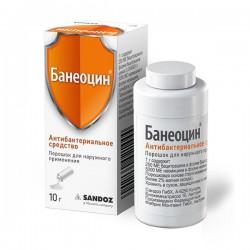 Банеоцин, пор. д/наружн. прим. 10 г №1
