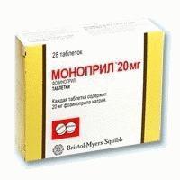 Моноприл, табл. 20 мг №28