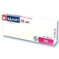 Эднит, табл. 10 мг №20
