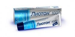 Лиотон 1000, гель д/наружн. прим. 1 тыс.ЕД/г 50 г №1