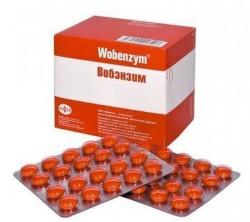 Вобэнзим, табл. п/о кишечнораств. №200