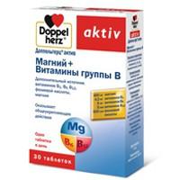 Доппельгерц актив магний+витамины группы В, табл. 1260 мг №30