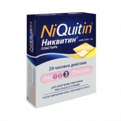 Никвитин, трансдерм. терапевт. система 7 мг/сут №7