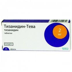Тизанидин-Тева, табл. 2 мг №30