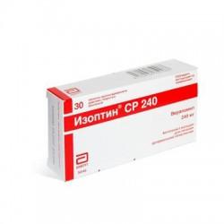 Изоптин СР, табл. пролонг. п/о пленочной 240 мг №30