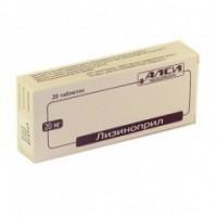 Лизиноприл-АЛСИ, табл. 20 мг №20