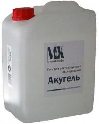 Акугель, гель 5 кг для узи средней вязкости