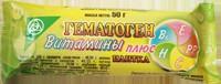 Гематоген, 40 г витамины плюс