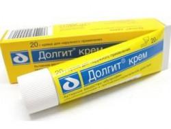 Долгит, крем д/наружн. прим. 5% 50 г №1