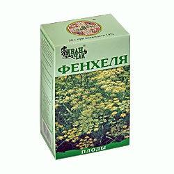 Фенхеля плоды, сырье 50 г №1
